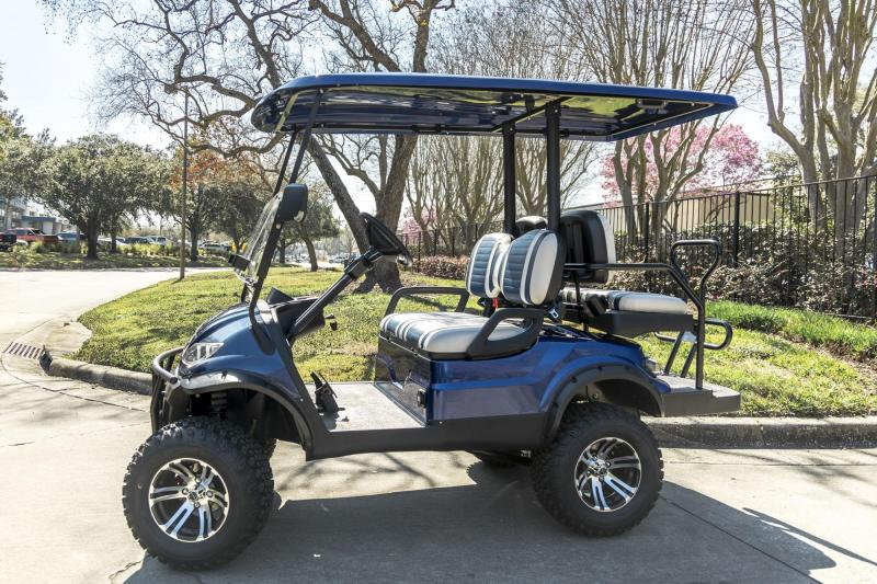 New IconEV i40L Lifted 4 Passenger Cart