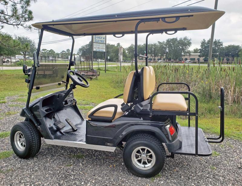 2021 StarEV Classic 36-2+2 - Black 4 Passenger Cart
