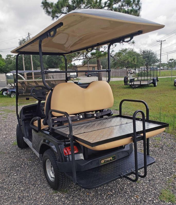 2022 StarEV Classic 36-2+2 - Black 4 Passenger Cart