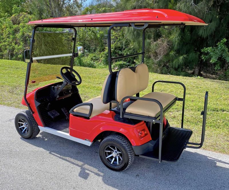2022 StarEV Classic 36-2+2 - Red 4 Passenger Cart