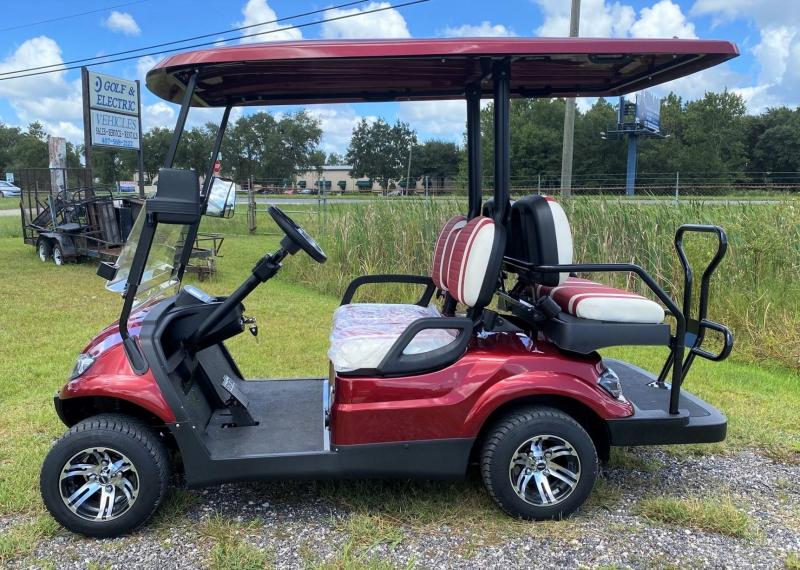 2020 IconEV i40 - Burgundy 4 Passenger Cart