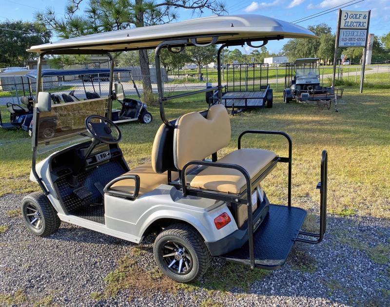 2021 StarEV Classic 36-2+2 - Silver 4 Passenger Cart