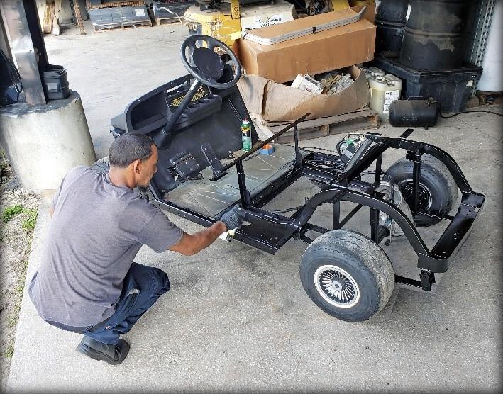 2021 Reconditioned EZ-Go TXT Golf Cart