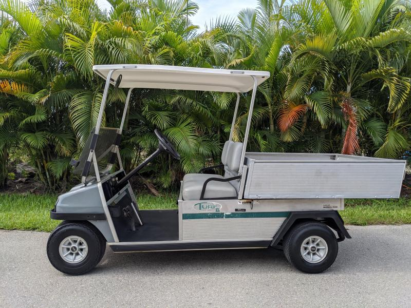 1998 Club Car TURF 2 GAS UTILITY Golf Cart