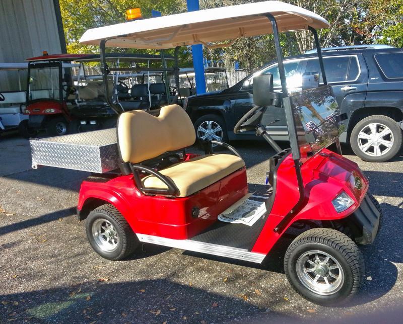 2018 StarEV 48v Cart with Cargo Box - Black