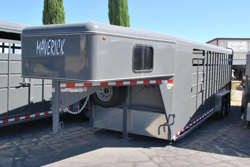 2020 Maverick GN 24' Stock/Combo Horse Trailer
