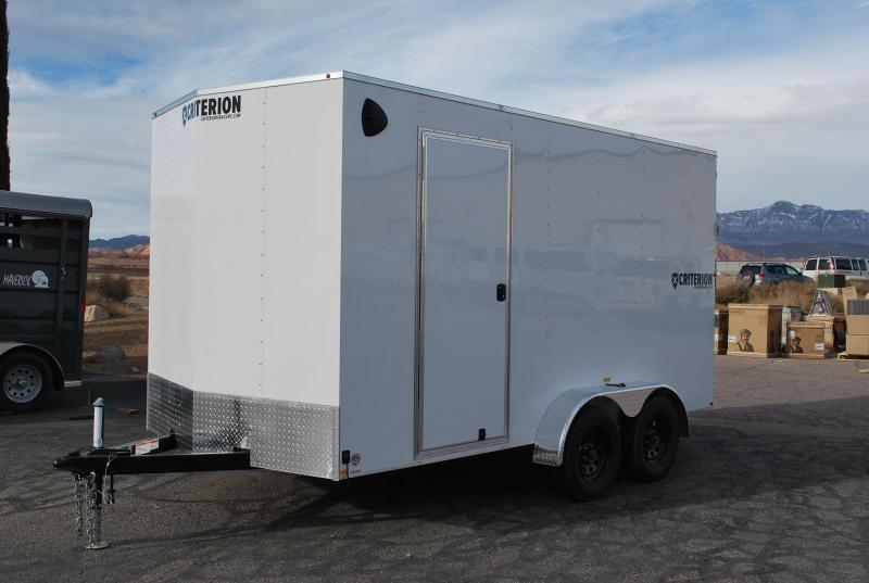 2020 Criterion 7X14 Enclosed Cargo Trailer