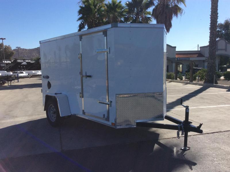 2022 Look Trailers Element 5' x 10' Single Axle Enclosed Cargo Trailer