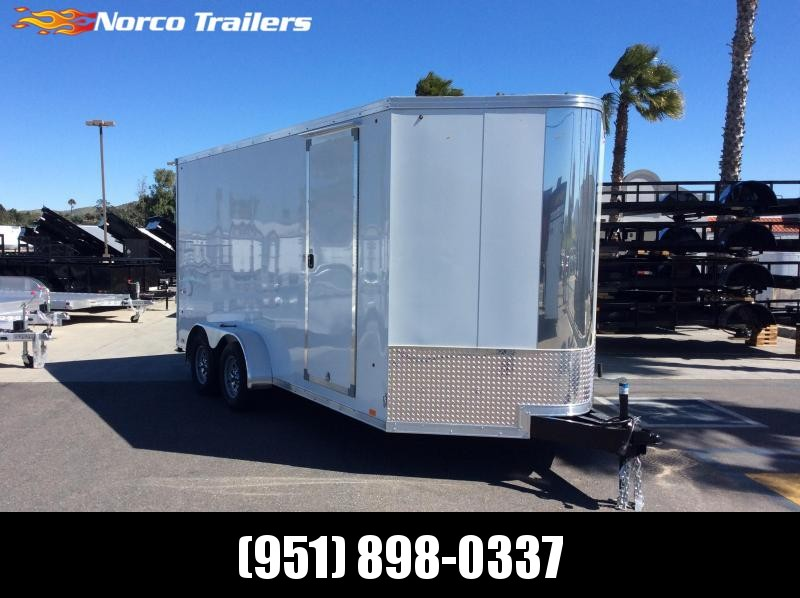 2019 Look Trailers Vision 7' X 16' Tandem axle Enclosed Cargo Trailer
