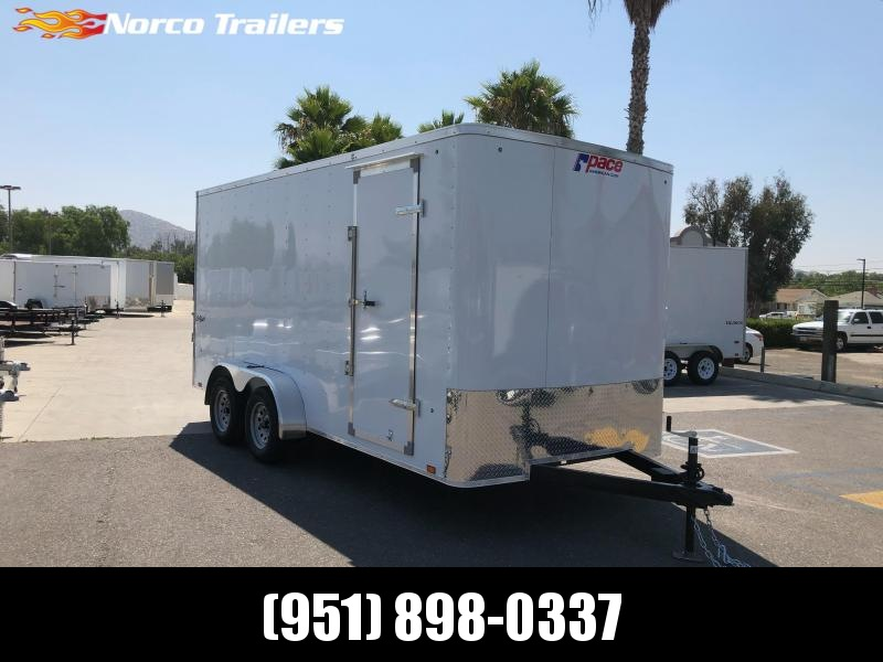 2021 Pace American Outback 7' x 16' Enclosed Cargo Trailer