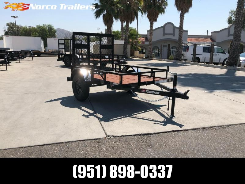 2020 Playcraft 4' x 6'  Big Mini Utility Trailer