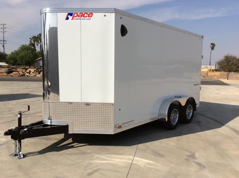 2021 Pace American CargoSport 7' x 14' Flat  Cargo / Enclosed Trailer