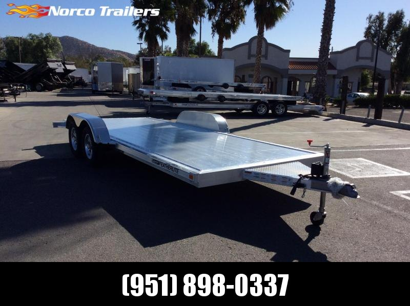 2020 Featherlite 3182 8.5' x 18' Flatbed Trailer