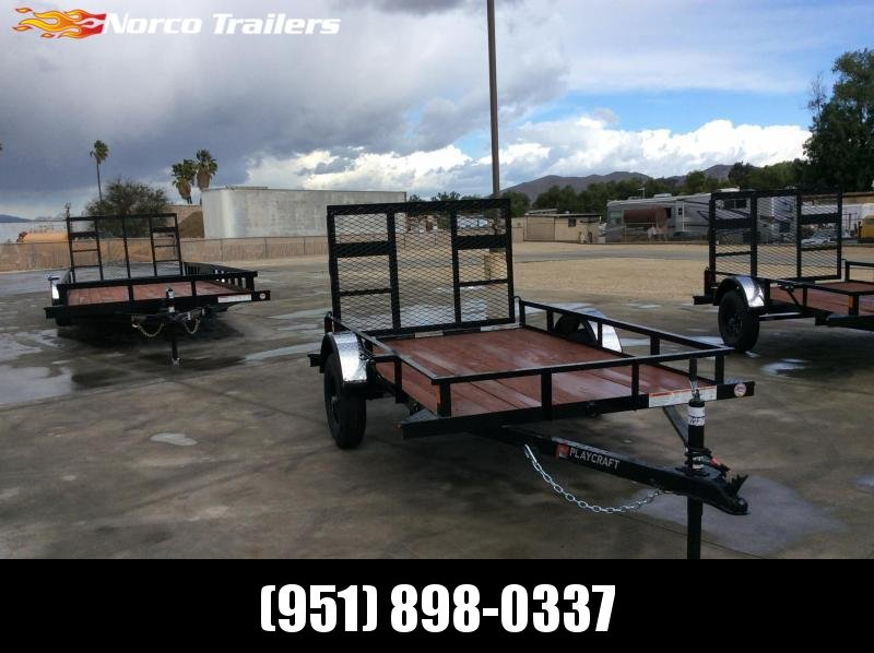 2021 Playcraft 5' x 8' Big Mini 2K Utility Trailer