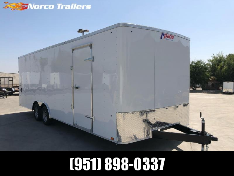 2022 Pace American Outback 8.5' x 24' 7K Car / Racing Trailer