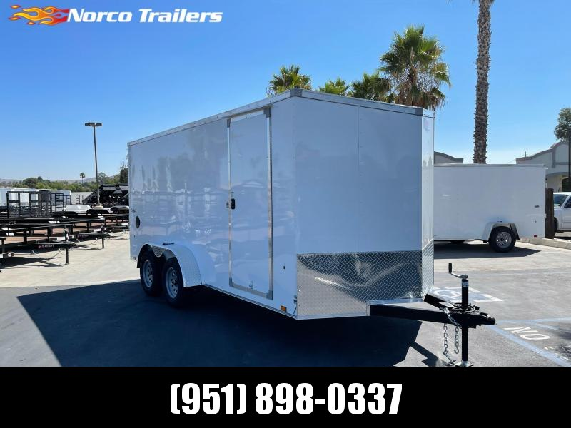 2022 Pace American Outback DLX 7 x 16' Enclosed Cargo Trailer