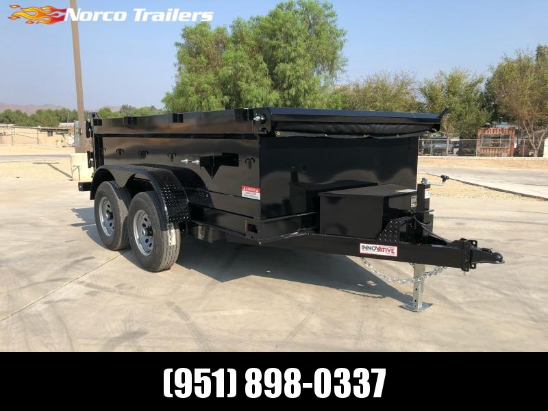 "2021 Innovative Trailer Mfg. 72"" x 10' Dump Trailer"
