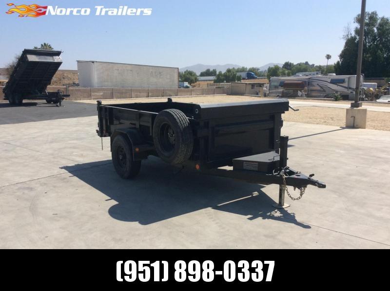 2017 Load Trail 5' x 10' Single Axle Dump Trailer