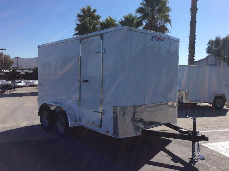 2022 Pace American Outback 7' x 12' Enclosed Cargo Trailer