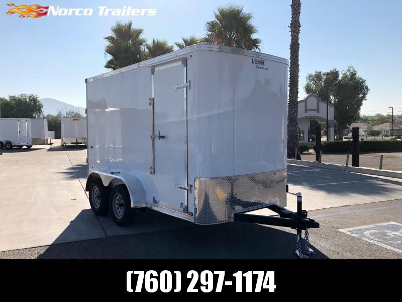 2020 Look Trailers STLC 6' x 12' Tandem Axle Enclosed Cargo Trailer