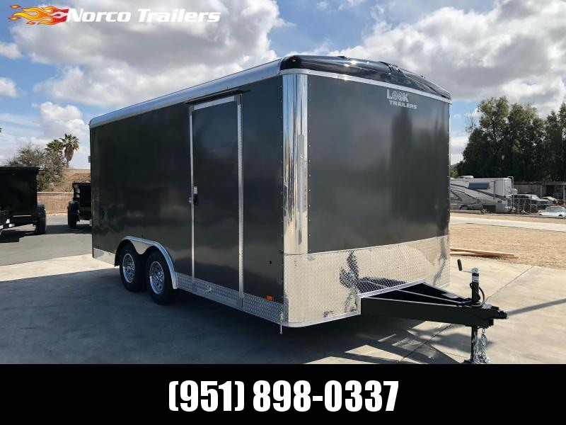 2022 Look Trailers Vision 8.5' x 16' 7K Car / Racing Trailer