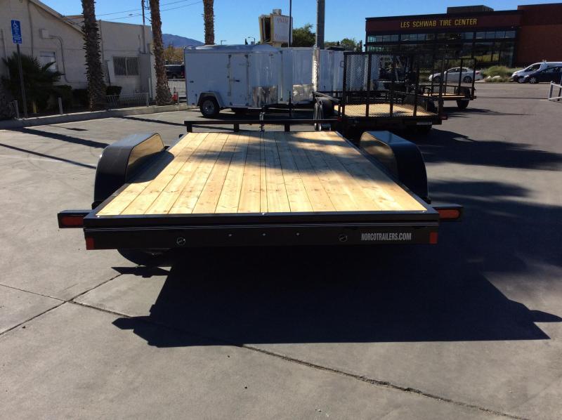 "2019 Innovative Trailer Mfg. Economy Wood Car Hauler 83"" x 14' Flatbed Trailer"