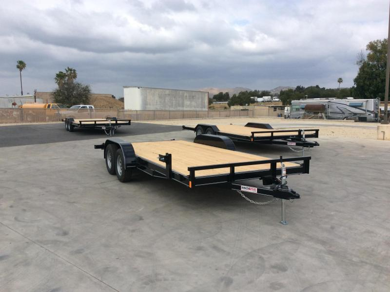 "2021 Innovative Trailer Mfg. 83"" x 18' 7k Flatbed Trailer"