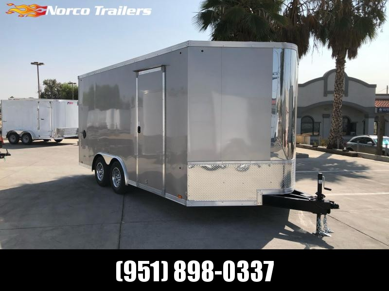 2021 Look Trailers Vision 8.5' x 16' Tandem Axle Car / Racing Trailer