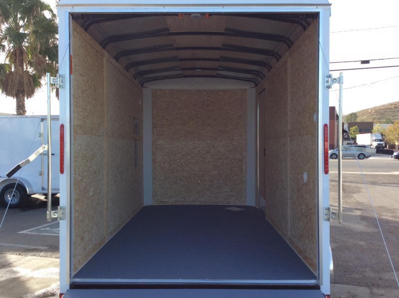 2020 Look Trailers Vision 7' x 12' Tandem Axle Enclosed Cargo Trailer