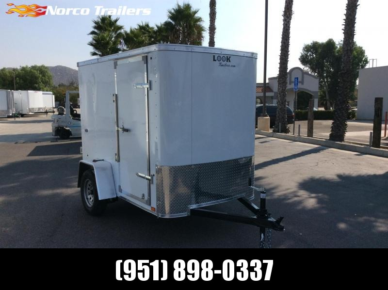 2021 Look Trailers STLC 5 x 8' Enclosed Cargo Trailer