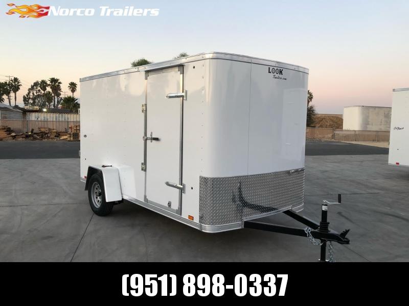 2022 Look Trailers STLC 6' x 12' Single Axle Enclosed Cargo Trailer