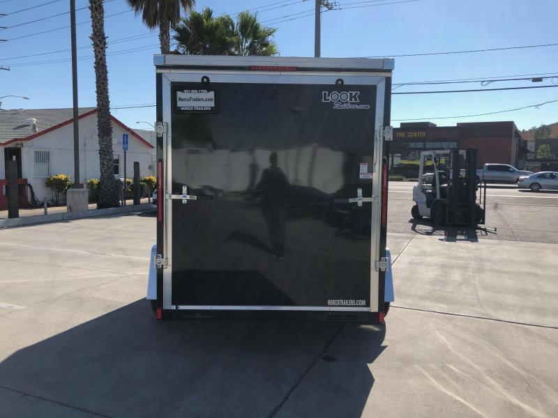 2021 Look Trailers Vision 6' x 10' Single Axle Enclosed Cargo Trailer