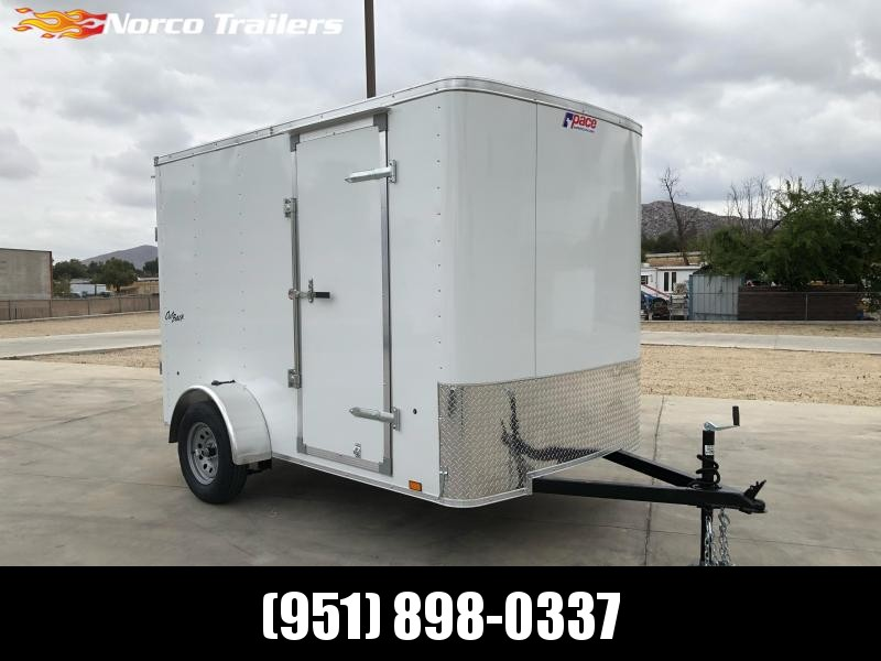 2022 Pace American Outback 6' x 10' Single Axle Enclosed Cargo Trailer