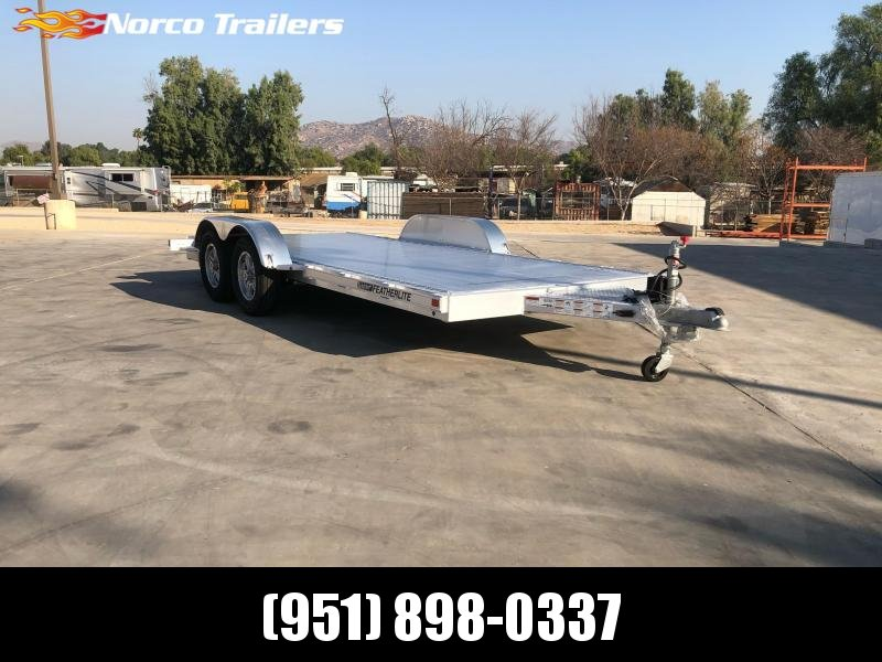 2021 Featherlite 3182 8.5' x 16' 7K Flatbed Car Trailer
