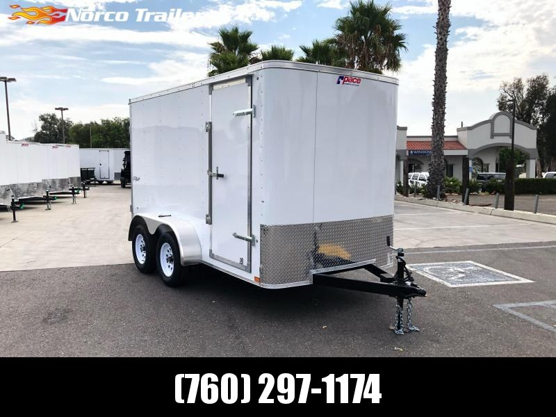 2021 Pace American Outback 6' x 12' Enclosed Cargo Trailer