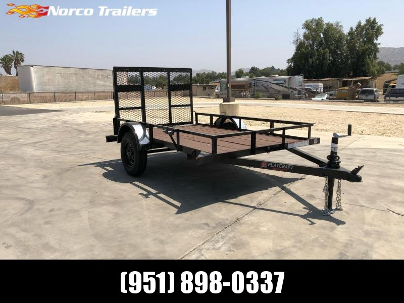 2021 Playcraft 5 x 8 Big Mini Utility Trailer