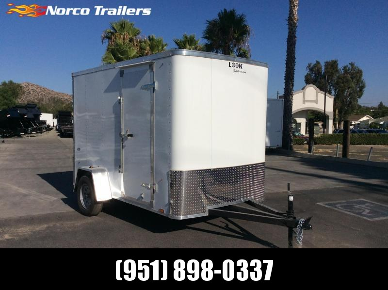 2020 Look Trailers STLC 6' X 10' Single Axle Enclosed Cargo Trailer