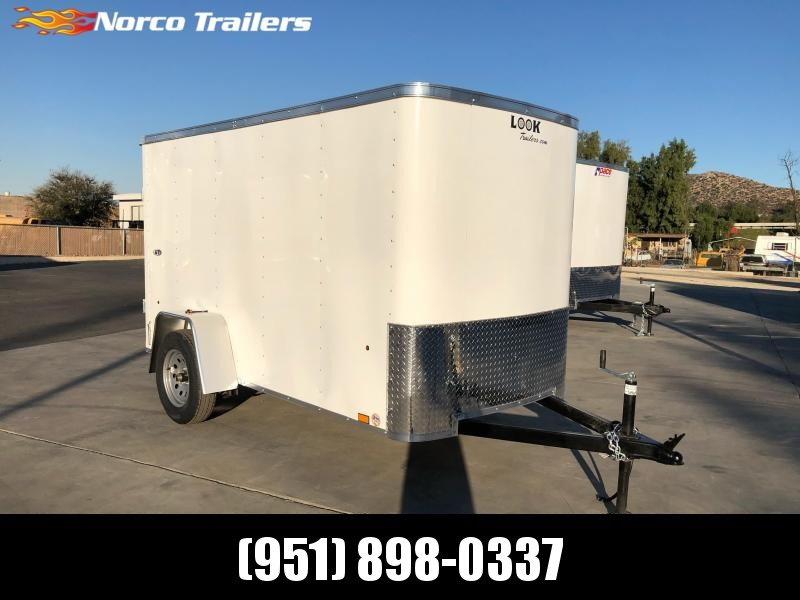 2022 Look Trailers STLC 5' x 10' Enclosed Cargo Trailer