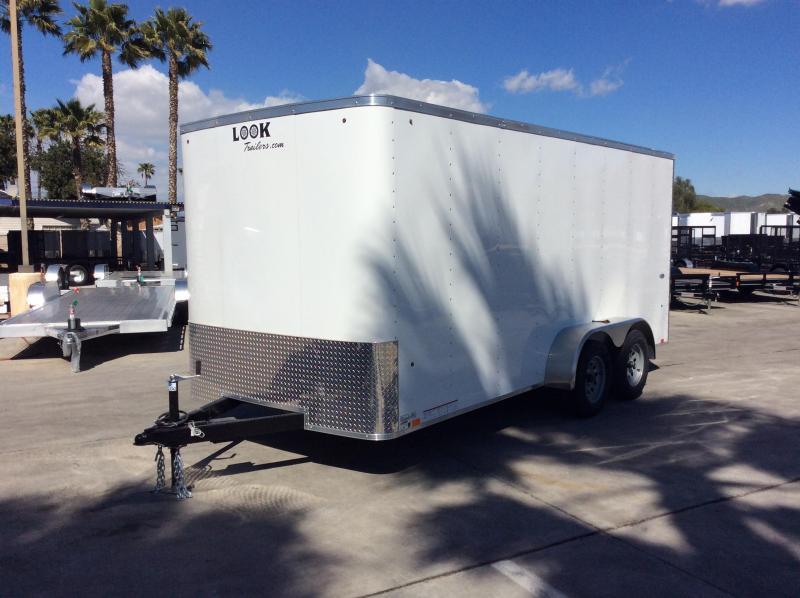 2019 Look Trailers STLC 7' x 16' Tandem Axle Enclosed Cargo Trailer