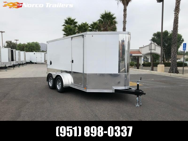 2021 Look Trailers VWLM 7' X 12' Tandem axle Enclosed Motorcycle Trailer