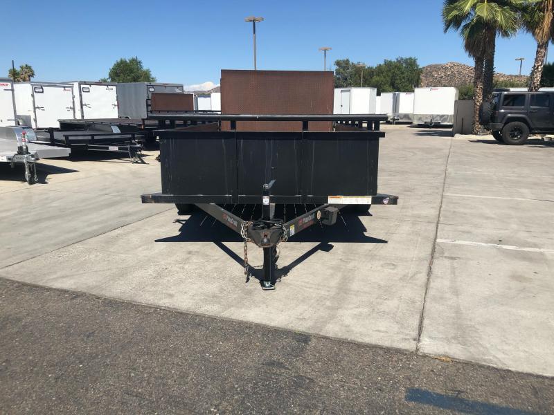 "2018 Playcraft 82"" x 12' Landscape Tandem Axle Utility Trailer"