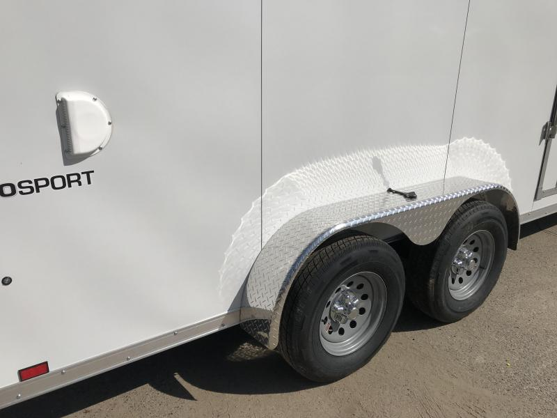 2019 Pace American Cargo Sport 7' x 16'  7K Enclosed Cargo Trailer
