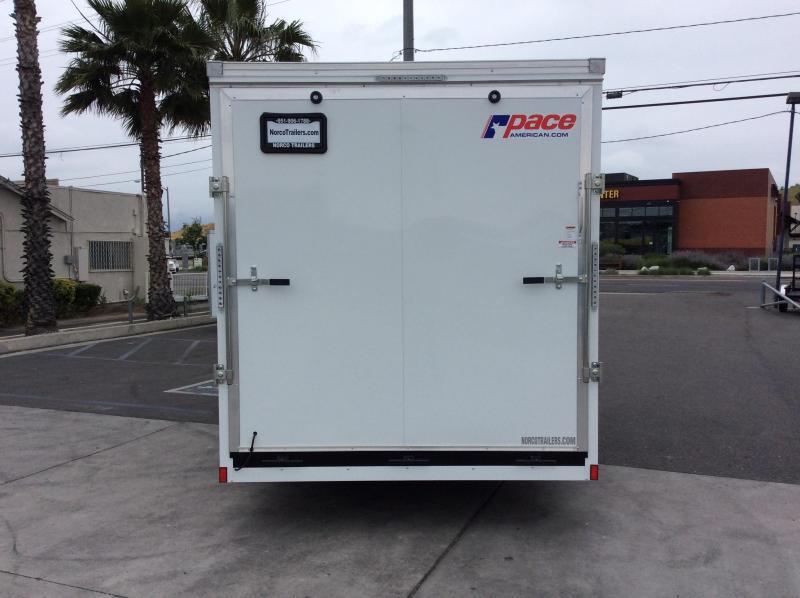 2019 Pace American Cargo Sport 7' x 16' Tandem Axle Enclosed Cargo Trailer