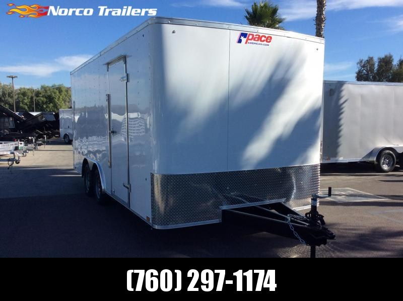 2020 Pace American Outback 8.5' x 18' 7K Car / Racing Trailer