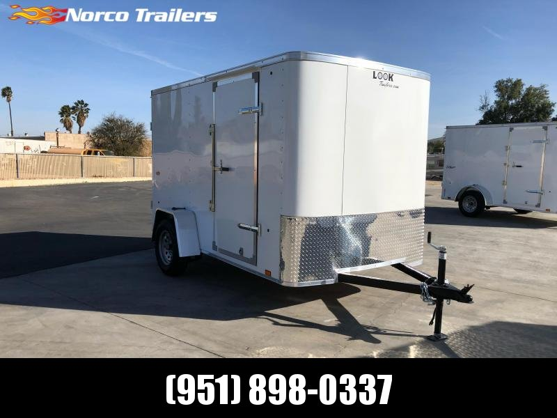 2021 Look Trailers STLC 6' x 10' Enclosed Cargo Trailer
