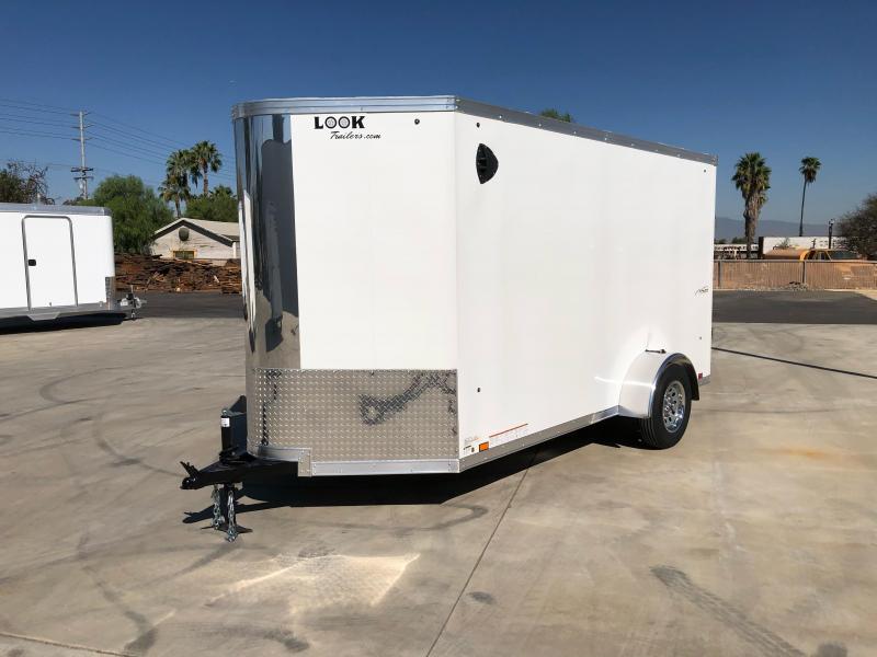 2021 Look Trailers Vision 6' x 12' Cargo / Enclosed Trailer
