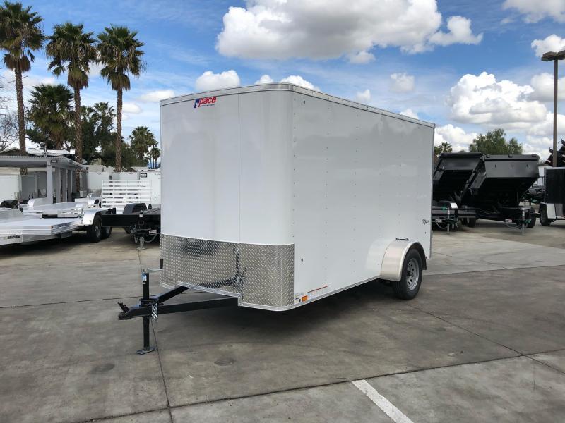 2021 Pace American OB 6' x 12' Single Axle Enclosed Cargo Trailer