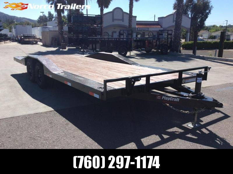 "2020 Playcraft 102"" x 20' Tandem Axle Equipment Trailer"
