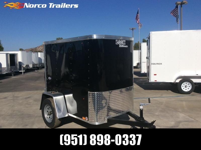2021 Look Trailers STLC 4' x 6' Enclosed Cargo Trailer