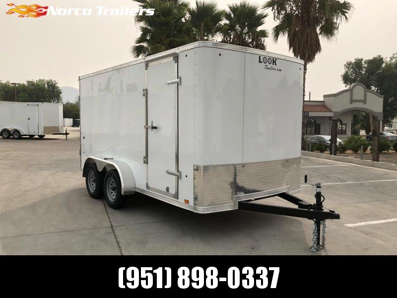 2021 Look Trailers STLC 7' x 14' Cargo / Enclosed Trailer